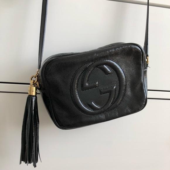 Gucci Handbags - Gucci  soho disco RARE patent leather